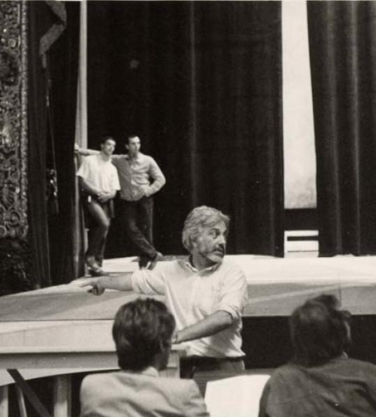 Il teatro che non c'è più – Dedica a Luca Ronconi