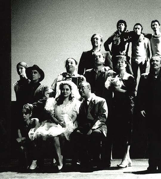 Backstage Festival D'Avignone 1995 (L'Histoire du Soldat)