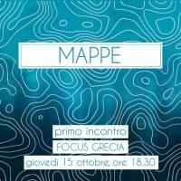 MAPPE, IL PRIMO APPUNTAMENTO GIOVEDÍ 15 OTTOBRE