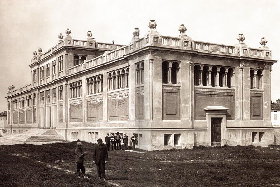 1912 Viale Basetti Bagni Pubblici Storia dell'Edificio - la Fondazione Teatro Due
