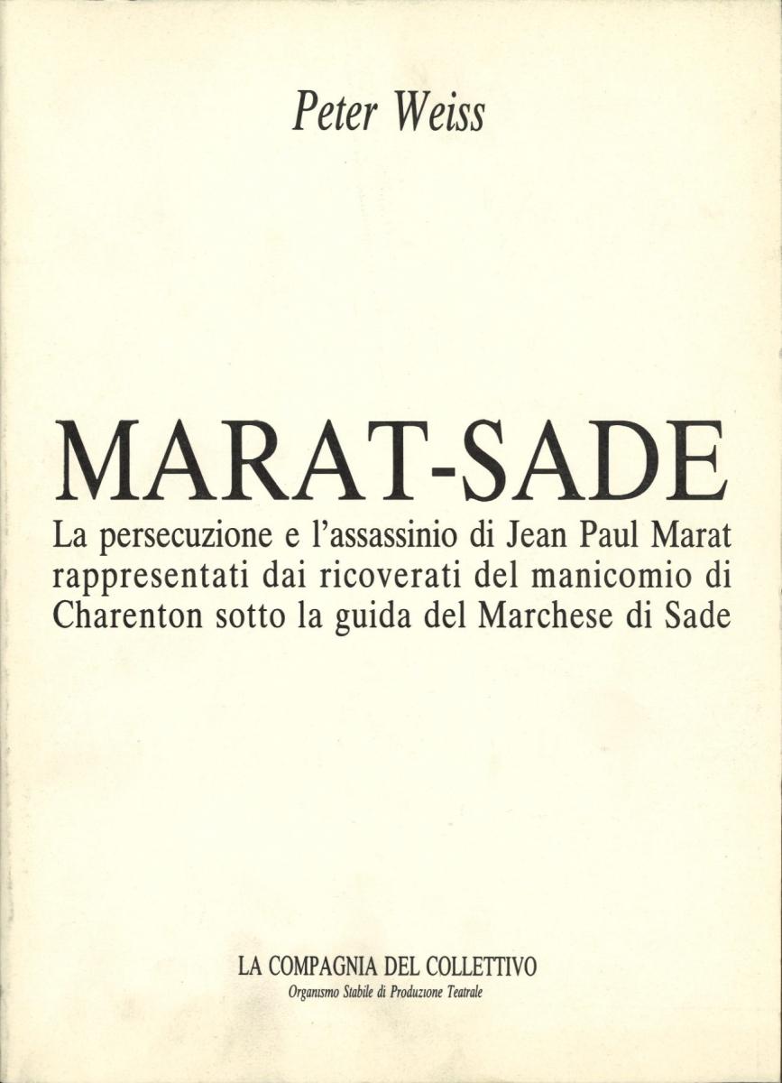 marat-sade catalogo 1985
