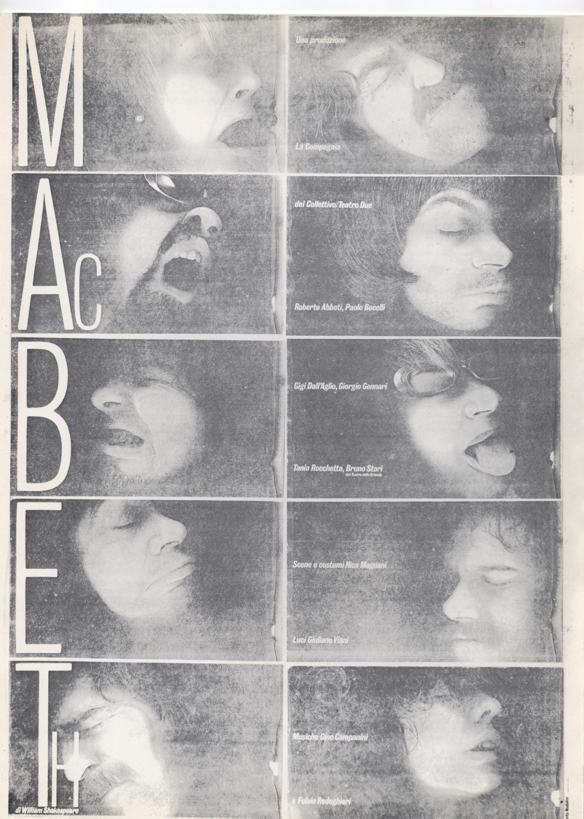 Macbeth Compagnia del Collettivo compagnia del collettivo